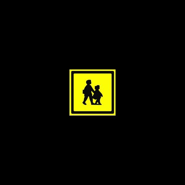 Children yellow block