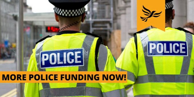 Police Funding graphic
