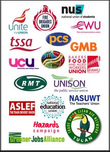 TUCAN supporter logos (Greener Jobs Alliance)