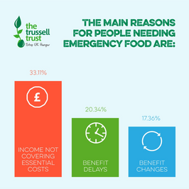 MAIN REASONS FOR FBS TTRUST (Trussell Trust)