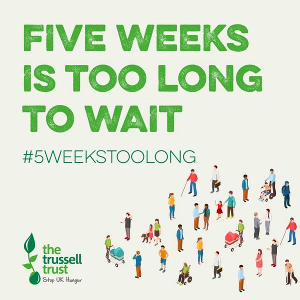 5 WEEKS TOO LONG TTRUST (TRUSSELL TRUST)