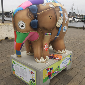 Elmer's Travel Trunk